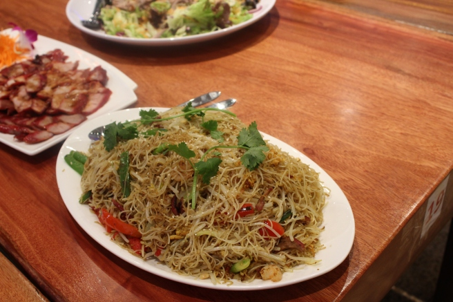 Fried Vermicelli Singapore Style