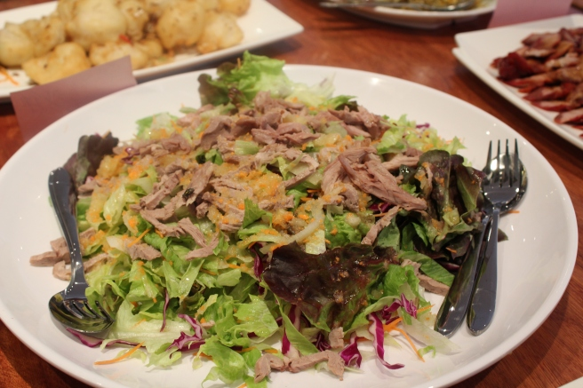 House Special Shredded Duck Salad