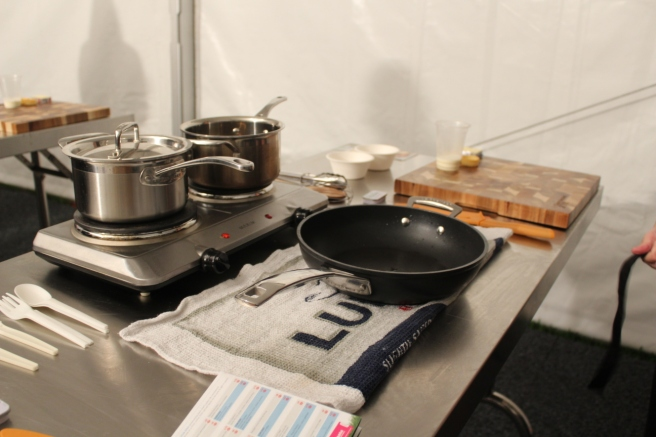 Pans ready and raring to go!